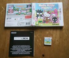 HELLO KITTY PICNIC NINTENDO 3DS PAL EUR ESPAÑOL CASTELLANO MUY BUEN ESTADO