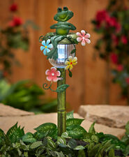 "Decorative Solar ""Frog"" Stake: Adorable Addition To Your Outdoor/Garden Decor"