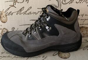 NICE! Dunham Men's Cloud 14 4E  Mid-cut Waterproof Lace Up Boots Slate Grey