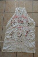 "Vintage ""Who's Next"" Collectible Comic Cooking Apron BBQ Animal"