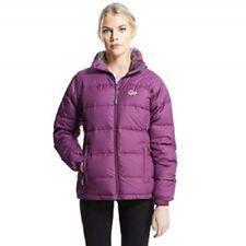Ladies Wineberry Lowe Alpine Lhasa Down Wind Waterproof Jacket Coat Size 10