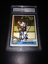 Denis Potvin Signed 1974-75 O-Pee-Chee Rookie Card Islanders PSA Slab #83854441