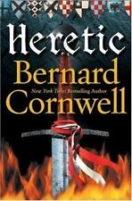 Heretic-Bernard Cornwell-Grail Quest novel #3-hardcover/dust jacket