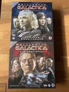 Battlestar Galactica + Pegasus Erweiterung Brettspiel Heidelberger Spieleverlag