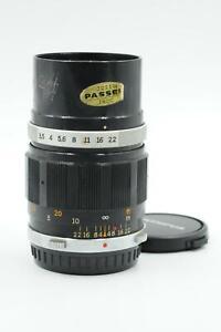 Olympus Pen-F 100mm f3.5 E.Zuiko Auto-T Lens 100/3.5 FT #529
