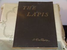 "Vintage ""The Lapis"" Irene Rice Pereira Signed w a Note 1958"