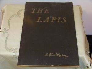 """Vintage """"The Lapis"""" Irene Rice Pereira Signed w a Note 1958"""
