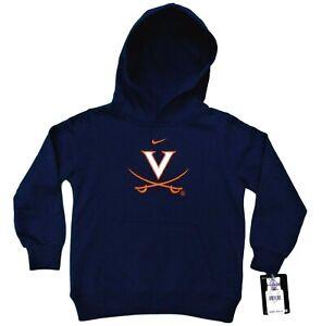 New Virginia Cavaliers Nike Boys Girls Hoodie Sweatshirt Size 6, Officially Lic