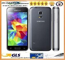 PHONE MOBILE SAMSUNG S5 MINI SM-G800F NEW BLACK BOX OPEN + INVOICE