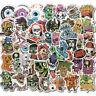 50Pcs Horror Stickers Skateboard Sticker Graffiti Laptop Luggage Decals Mix Lot