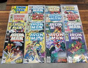 Rare MARVEL Comics Books Lot Run IRON MAN Bronze & 1980s ☆NM+Up!