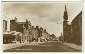 HIGH STREET, BURNTISLAND, THE PALACE CINEMA - Fife Postcard