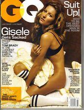 Gisele Bundchen Gq Revista 7/08 No Pantalones