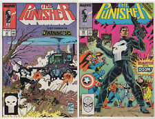 the PUNISHER LOT (16) FN/VF 1989-94 marvel NETFLIX Jimmy PALMIOTTI Dr. Doom Cage