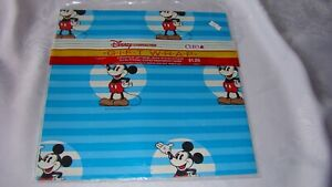 NOS Vintage Disney MICKEY MOUSE Cleo Gift Wrapping Paper