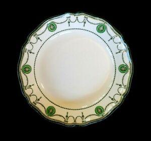 Beautiful Royal Doulton Countess Green Rim Soup Bowl Circa 1920