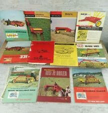 Vintage New Holland Agriculture Brochures Agriculture Advertising 1960's Lot