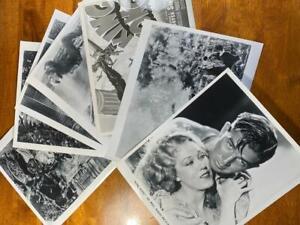 7 KING KONG Fay Wray Robert Armstrong Horror Movie Still Photo Lot A321