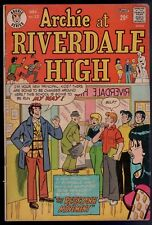 Archie at Riverdale High #12 Very Good / Fine Veronica Cover! Comics 1975 SA