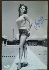 Sophia loren 8X12 Autographed JSA