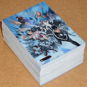 DC Comics Women of Legend (2013) ~ COMPLETE 63-CARD FOIL PARALLEL BASE SET