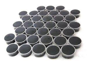 Medium Sized Round Acrylic Gem Jars Package Of 36 Black Overstock Sale