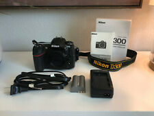 Nikon D300 - LOW SHUTTER COUNT:2793 - 12.3MP Digital SLR Camera - Body Only