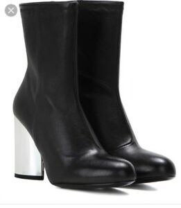 Opening Ceremony Zloty Size 38 Stretch Leather Ankle Boots booties