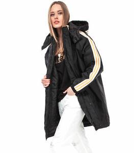 adidas Originals Women's SST Stadium Jacket Oversized Warm Winter Coat Retro 90s