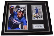 Marcel Kittel Signed FRAMED Photo Autograph 16x12 display Cycling Sport COA