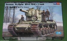 German Pz.Kpfw KV-2 754(r) Tank 1/48 Scale Hobby Boss 84819
