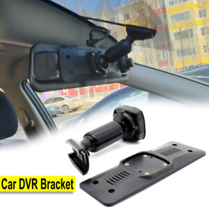 Car DVR Rear View Mirror Bracket Mounting Back Plate Panel Interior Recorder