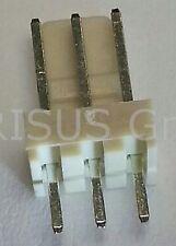 25 pcs. Stiftleiste gerade 3-polig einreihig RM2,54 Buchsenleiste + Kontakte #WP