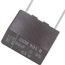 20 Stück MKT CKM 68nF 0,068µF  63V 5% (J) RM-10mm incl. De Versand