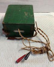 Antique Phone  Buzz Box Line Tester Electric phone true Americana