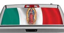 Truck Rear Window Decal Graphic [Flags / Mexican Collage] 20x65in DC82003