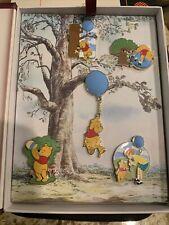 Disney Pin: 2021 Winnie the Pooh Anniversary 5 Pin set Limited Edition 3000