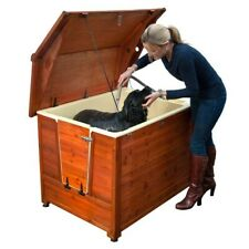 New listing DoggyShouse Grooming Kennel Dog House & Shower Sleep Area Size M - L upto 77lbs