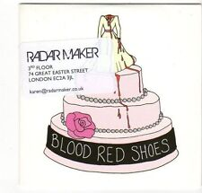 (EZ427) Blood Red Shoes, I Wish I Was Someone Better - 2007 DJ CD