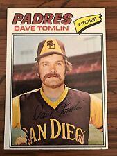1977 Topps Dave Tomlin San Diego Padres 241