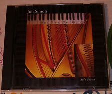 Beatles On Ivory by Jon Simon Solo Piano 1995 Silver Lining Records