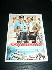 DOWNTOWN, film card [Anthony Edwards, Forest Whitaker]