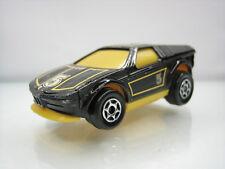 Diecast Majorette Motor BMW Turbo Black Good Condition