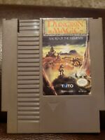 Dungeon Magic: Sword of the Elements (Nintendo NES) Tested & Working!