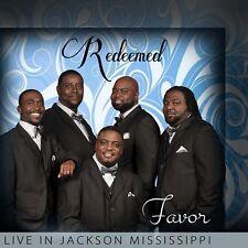 Redeemed - Favor -  Live In Jackson Mississippi - New Factory Sealed CD