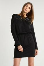 "BNWT 100% auth by Just Cavalli, ladies "" Stars "" Black dress. 42 RRP £370.00"