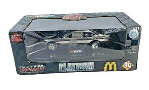 Diecast Racing Champions Bill Elliott 1/24 94 McDonald's Reflections in Platinum