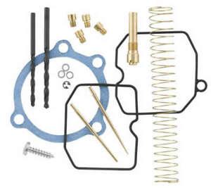 CV Carburetor Jet Recalibration Kit w/ Gaskets Seals Harley Sportster 1200 90-06