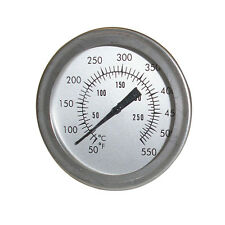 Stainless Steel Mini Cooker BBQ Grill Thermometer Temperature Gauge for Cooking