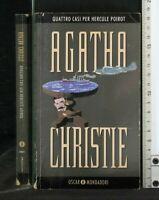 QUATTRO CASI PER HERCULE POIROT. Agatha Christie. Mondadori.